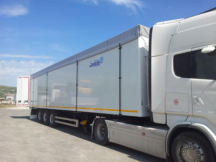 Camion centinati speciali