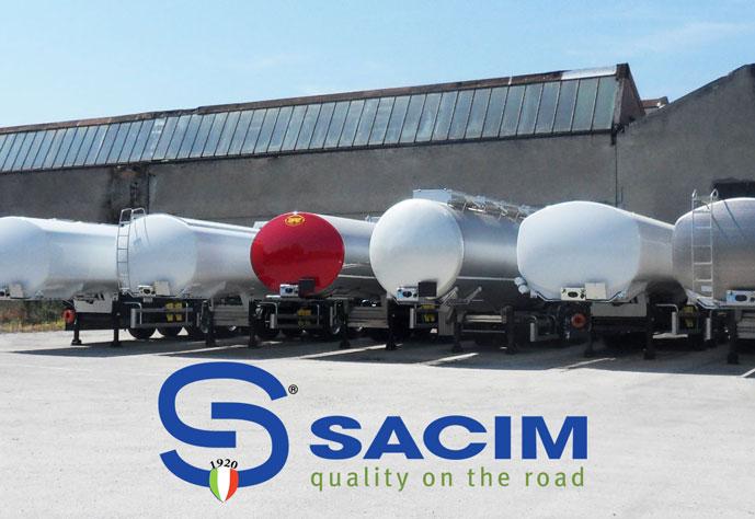 Cisterne sacim montaggio semi trailer