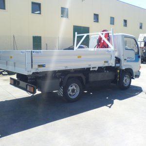 Allestimento maxilift su furgone marche abruzzo san benedetto del tronto