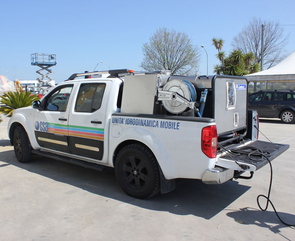 CSA unita idrodinamica mobile idropulitrice
