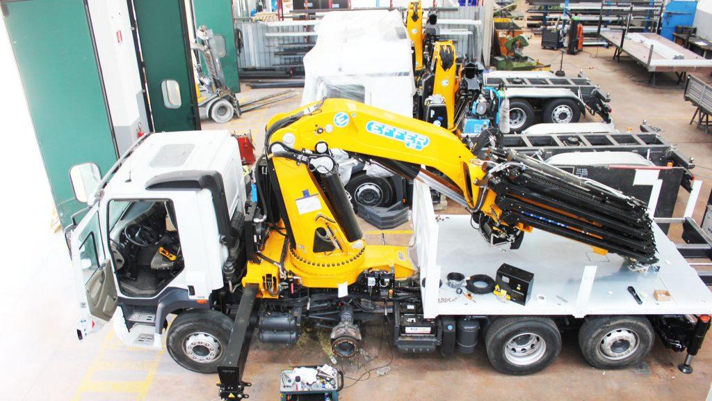 Allestimenti su veicoli industriali