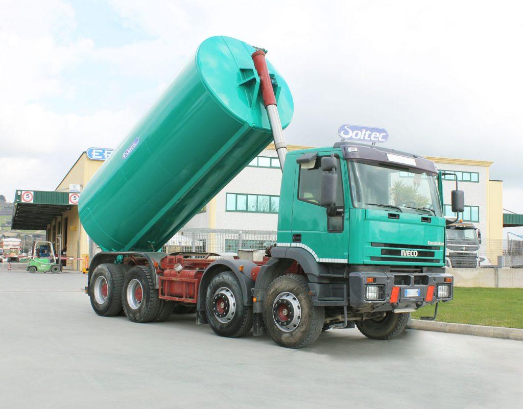 cisterna 2000 litri ribaltabile