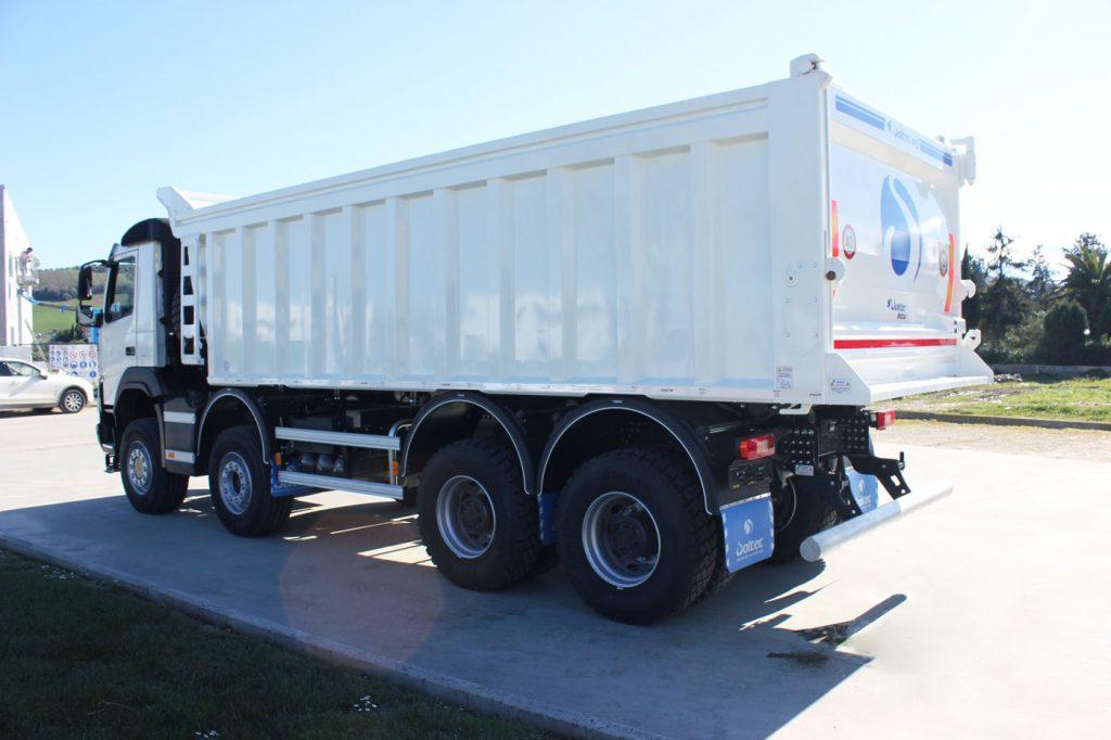 Autocarro mezzo d'opera 40 ton ribaltabile