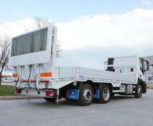 Pedana di carico carro attrezzi pedane caricatrice rampe di carico per carrelli elevatori