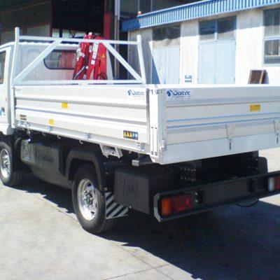 Allestimento maxilift su furgone
