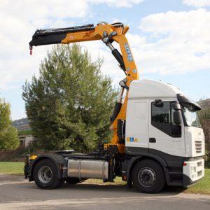 Crane truck Soltec